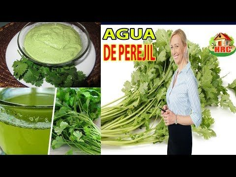 para que sirve te de perejil con cilantro