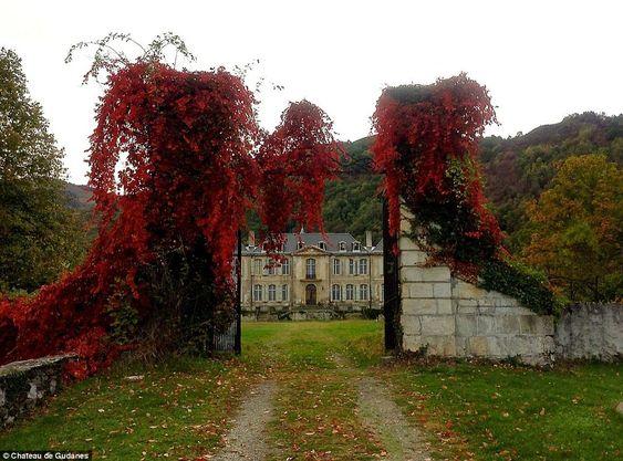 château de Gudanes, mi XVIII°s., sud de la France