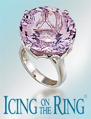 Visit Icing On The Ring's Facebook page for a chance to win this Rose de France sterling silver ring worth almost 600 dollars for Mother's Day. #HappyMothersDay https://www.facebook.com/icingonthering