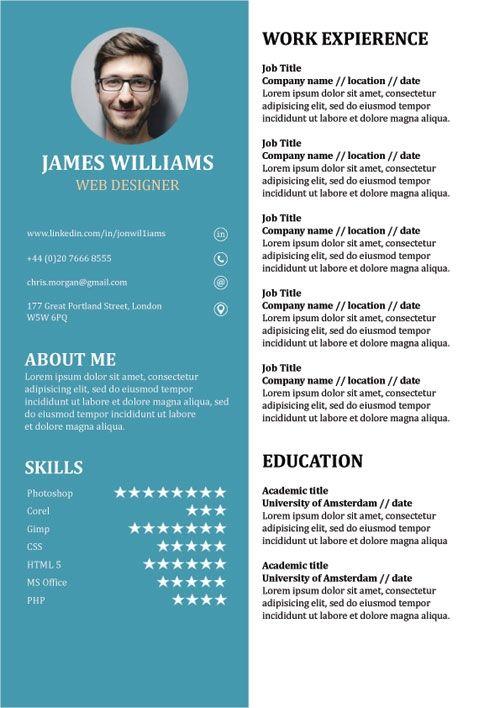 Resume Template Creative Cv Doc Word Free Creative Resume Templates Resume Template Creative Cv