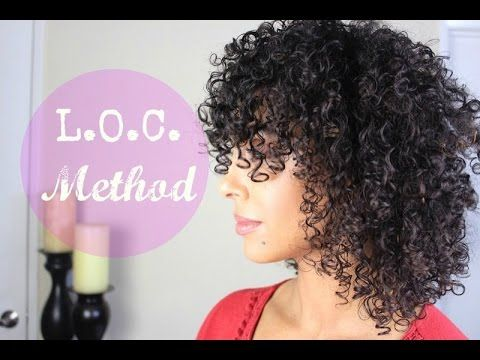 LOC Method for Fine, Curly Hair - YouTube