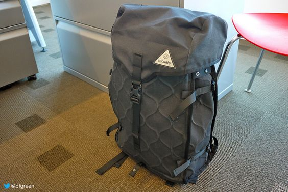 Protect Your Gear from Thieves with the Pacsafe Z28 Urban Security Backpack