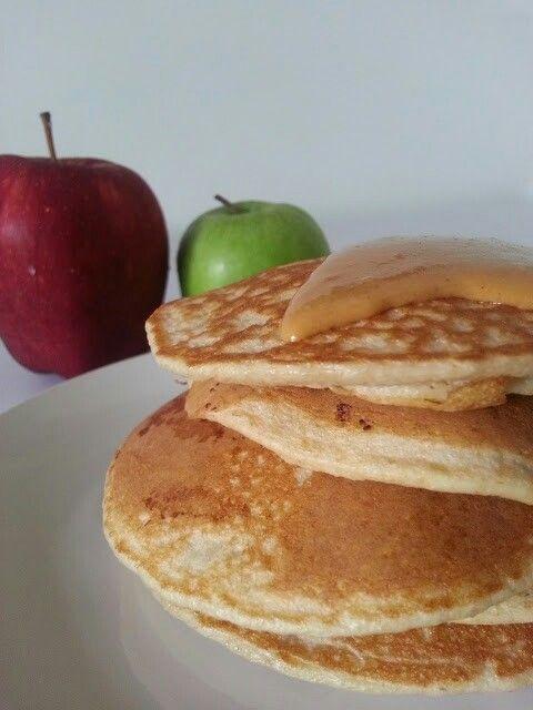 Panquecas de manzana