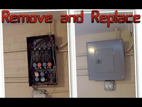 Remove And Replace An Old Fuse Box Do It Yourself How To Projects