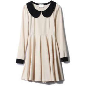 I LOVE the Peter Pan collar. So dainty and adorable!