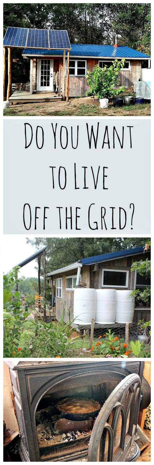 Do You Want to Live Off Grid? | Homesteads, Create and Books