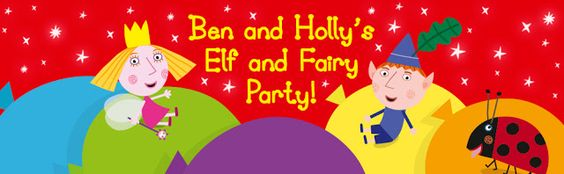 Two Monsters and Me: Ben and Holly's elf and fairy Party Time #recipes