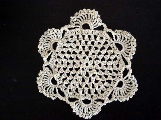 Crochet doilies, Doilies and Beginner crochet on Pinterest