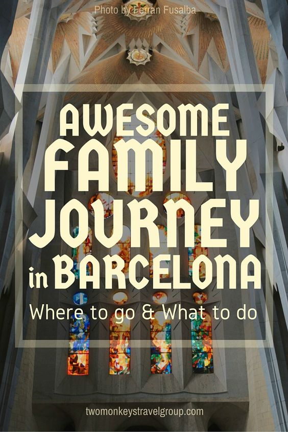 Awesome Family Journey in Barcelona - Where to go and What to do. BARCELONA, which ranks No. 14 in the BEST CITIES in the World: Readers' Choice Awards 2015, Conde Nast Traveler magazine, is one place not only worth visiting but deserve treasuring and falling in love with.  Why? Because there are 1,000 and 1 reasons to love this amazing travel wonder which include a lot of interesting places to visit and awesome things to do in this city