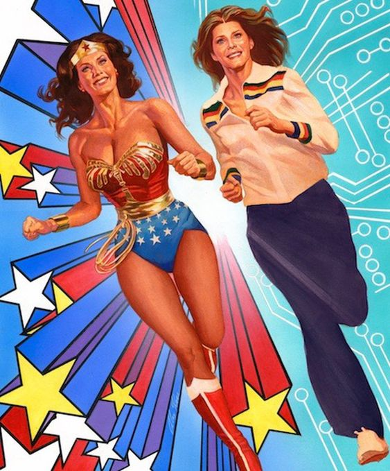 Wonder Woman And The Bionic Woman Join Forces In New Comic In 2020 Bionic Woman Wonder Woman Wonder