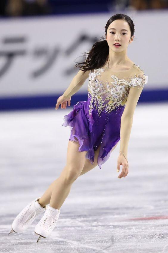 本田真凜の紫