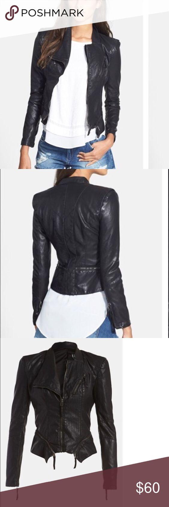 Leather jacket xs -  Like New Blanknyc Faux Leather Jacket Xs Reposhing Like New In Perfect