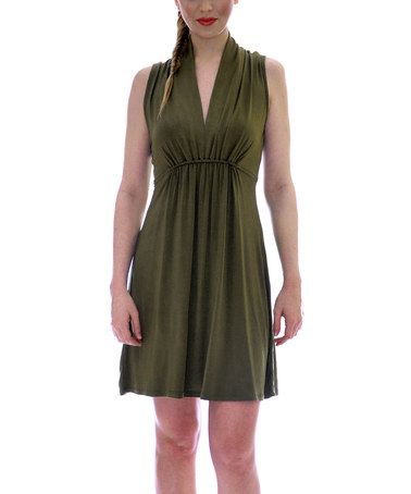 Take a look at this Sage Sharon Sleeveless Dress by vfish on #zulily today! $27 !!