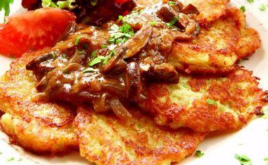 Vegan Potato Pancakes peaceful-plate-vegan-food