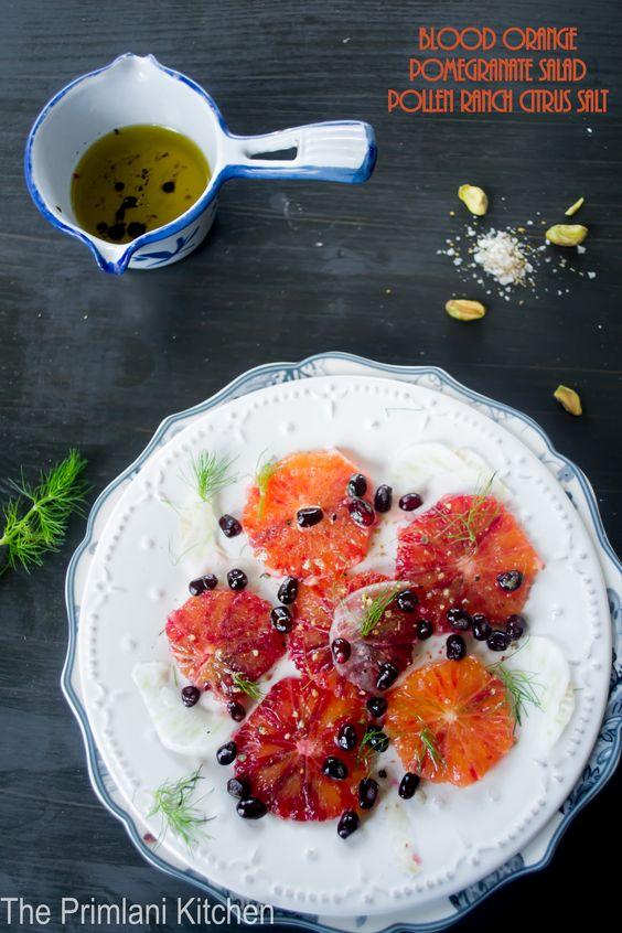 Fennel, Prosciutto And Pomegranate Salad Recipe — Dishmaps