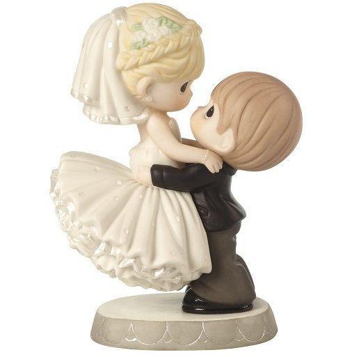 Bride Groom Precious Moments Figurine Wedding Cake Topper Best Day Ever Nwob Preciousmoments Adornos De Torta Boda Colores Para Boda Novios Para Pastel