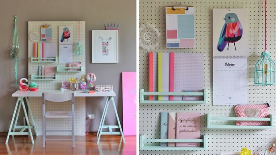 Pastel photos and parfait on pinterest - Organisation de bureau ...