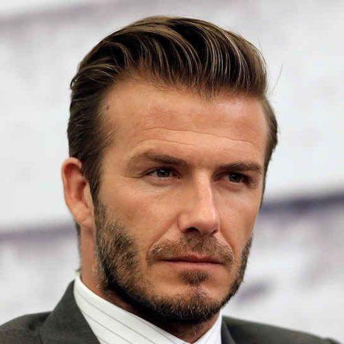 David Beckham Facial Hair Lange Haare Haare