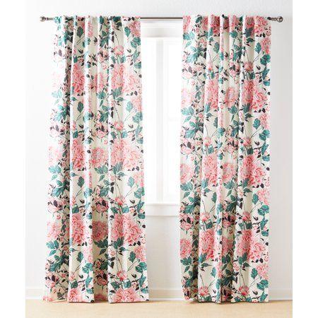 Home Floral Curtains Panel Curtains Vintage Floral