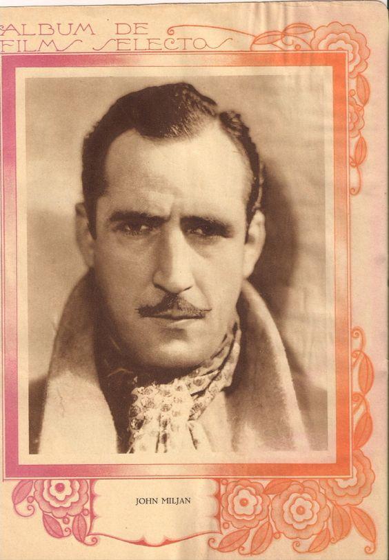 Revista Films Selectos 1933. John Miljan