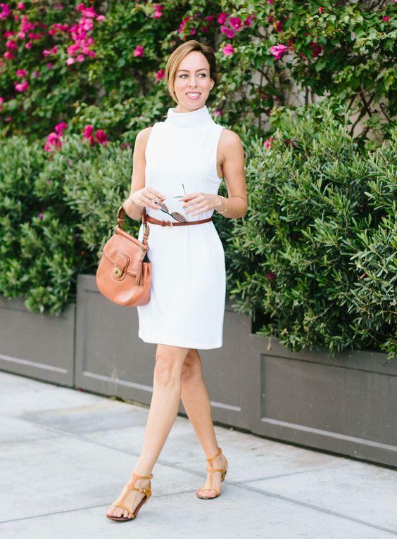 Sydne Style - Inspired By: Gigi Hadid's White Turtleneck Dress