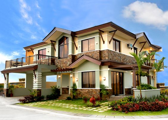 House color design exterior philippines flag