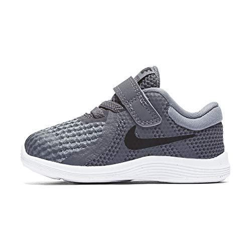 Nike Boys Revolution 4 Tdv Running Shoe Dark Black Cool Grey White Clout Wear Cloutclothes Com Clothes Accessories Baby Boy Sneakers Running Shoe Reviews Toddler Shoes