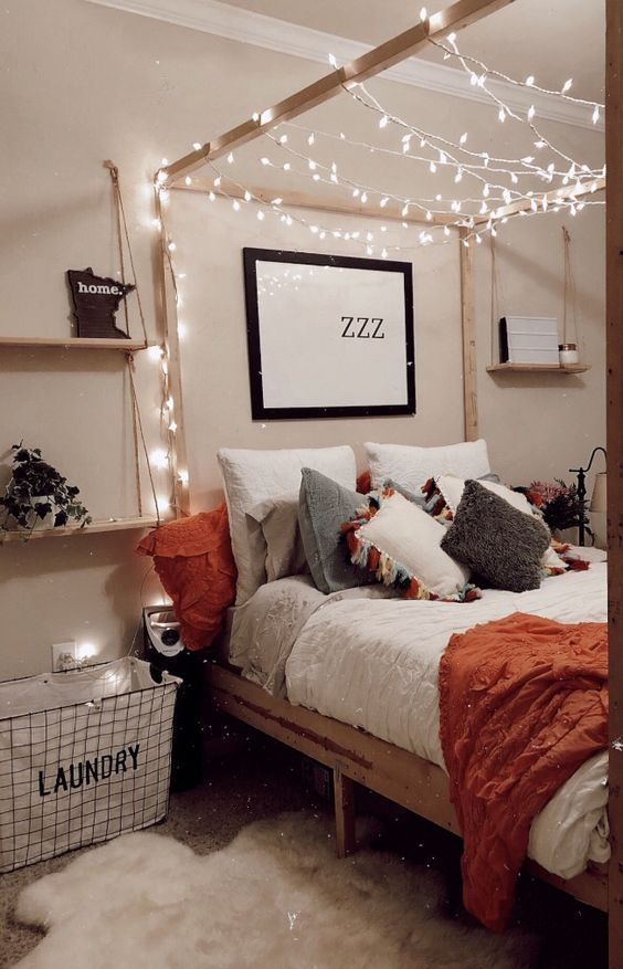 Ma Source D Inspiration Pinterest Decoration Chambre Cocooning