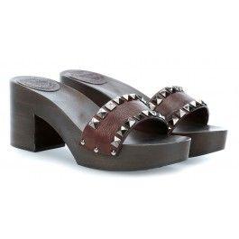 wardow.com - #Campomaggi #shoe #sandal #clogs Clog Schuhe dunkelbraun