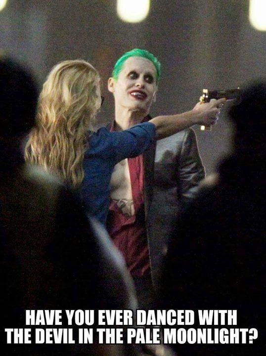 Leto as Joker #suicidesquad