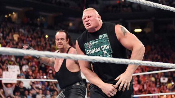 The Undertaker crashes Brock Lesnar's homecoming celebration: photos | WWE.com