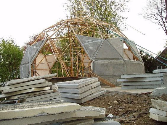 constructing a dome home: