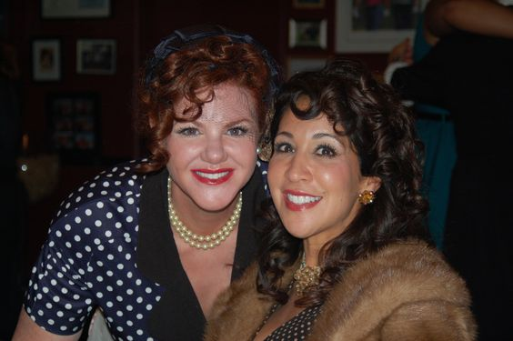 Leslie and Cookie AKA Lucy and Carlotta Romera #ilovelucy #ilovelucyparty