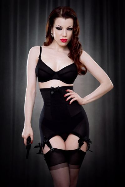 Kiss Me Deadly Vargas Longline Girdle. If you loved me you'd buy me one.