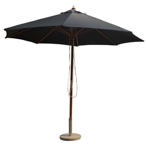 big square patio outdoor wood umbrella white wooden market umbrella