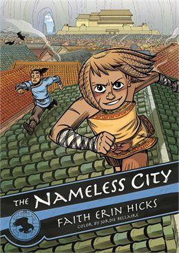 Book The Nameless City by Faith Erin Hicks: