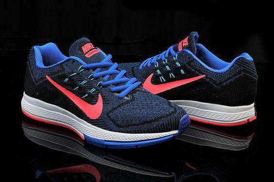 Half-off-683731-400-Nike-Air-Zoom-Structure-18-Mens-Hyper-Cobalt-Hyper-Punch -Black-Hyper-Jade   Shoegasm   Pinterest