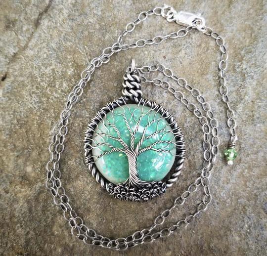10++ Tree of life breast milk jewelry ideas