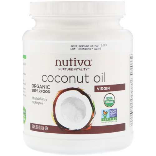 أفضل منتجات زيت جوز الهند الأصلي للطبخ Coconut Oil Cooking With Coconut Oil Healthy Coconut Oil