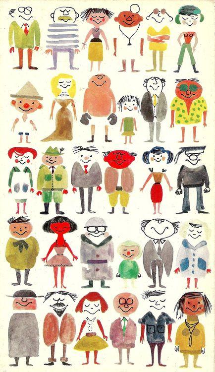 Shiny happy people.(1961) Ted Schaap