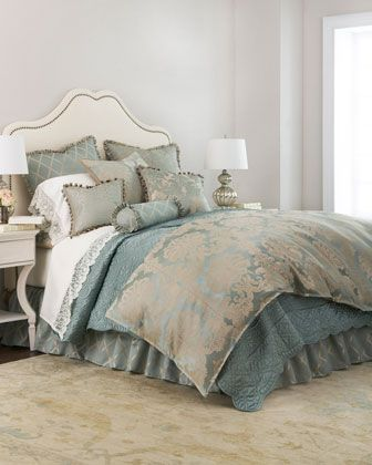 bedding sea spray and neiman marcus on pinterest. Black Bedroom Furniture Sets. Home Design Ideas