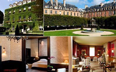 Hotel Pavilon de la Reine - Paris, France.  My favorite place to stay in the city of light.