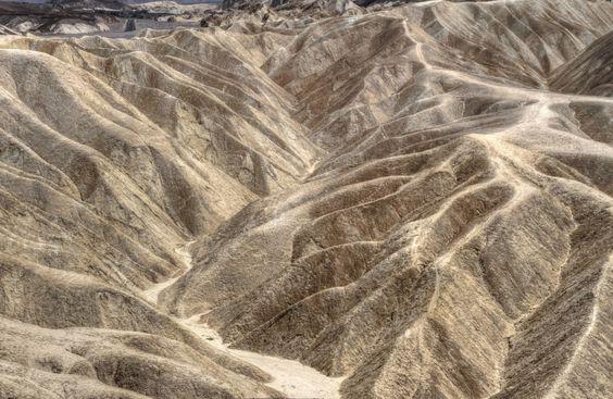 Looks like silvery grey panne velvet. Zabriskie Point in Death Valley, California original photography by Jack Lankhorst/PureFotography.blogspot.com