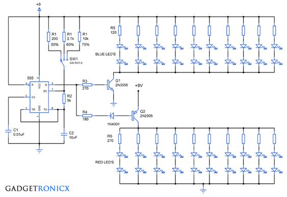 Working and pin configuration of the #NAND #IC CD4011 Electronic - ics organizational chart