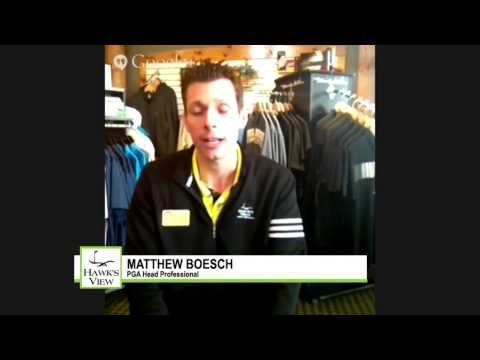 Meet Matthew at Hawk's View Golf Club