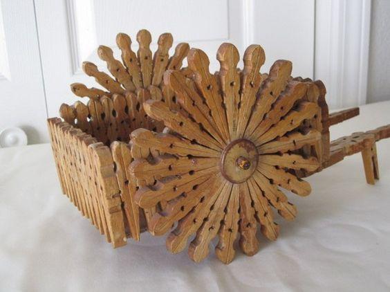Tramp art baskets tramp art pinterest baskets art - Trabajos manuales en madera ...