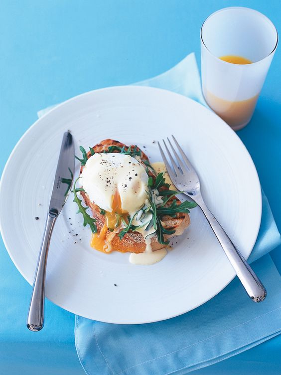 eggs florentine with arugula Donna Hay - Recipes   Breakfast and ...