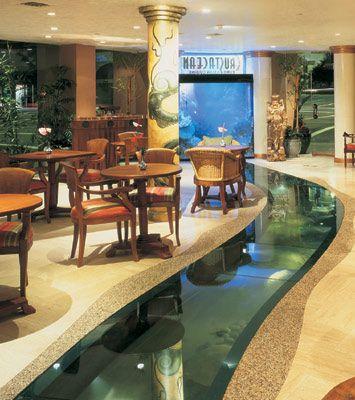 Beverly hills restaurant and koi ponds on pinterest for Koi restaurant los angeles