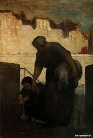 Blanchisseuse Daumier