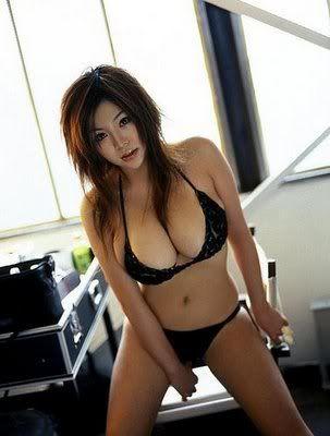 Lingerie Busty asian